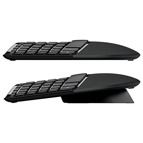 لوحة مفاتيح وماوس سطح المكتب تصميم منحوت ومريح من مايكروسوفت L5V-00018