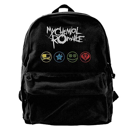 Romance Computer - My Love Chemical Romance Canvas Backpack Laptop Bag ypack Travel School