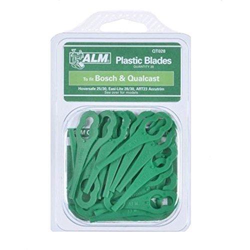 Find A Spare Genuine Cutter Blades ALM QT028 Pk Of 20 Qualcast Gtech Bosch Sovereign Qualcast