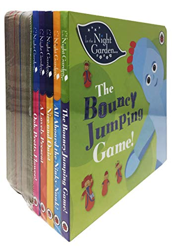 In The Night Garden 10 Story Books Collection Set for Childrens (Bouncy Jumping Game, Aboard the Ninky Nonk, Nice and Quiet, Lovely Present and More) (Childrens Books, Age 1 to 4, Early Reader)