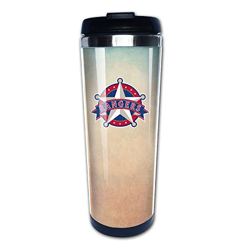 Boomy Custom Rangers Star Logo Stainless Steel Travel Mug For Indoor & Outdoor Office School Gym Use