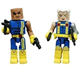 Marvel Minimates Series 10:  Bishop & Cable