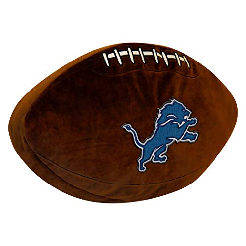 Officially Licensed NFL Detroit Lions 3D Sports Pillow