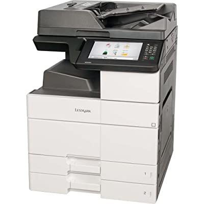 Lexmark Mx910de Laser Multifunction Printer . Monochrome . Plain Paper Print . Desktop . Copier/Fax/Printer/Scanner . 45 Ppm Mono Print . 1200 X 1200 Dpi Print . 45 Cpm Mono Copy . Touchscreen . 600 Dpi Optical Scan . Automatic Duplex Print . 1150 Sheets