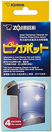 Zojirushi #CD-K03EJU Inner Container Cleaner for Electric Pots, 4 Packets,White