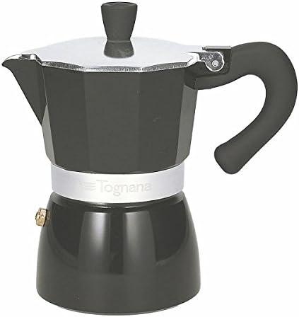 Tognana Cafetera 3 Tazas Grancucina Coffee Star 1 Gri gris: Amazon ...