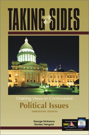 Taking Sides: Clashing Views on Controversial Political Issues