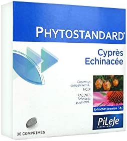 PhytoPrevent Phytostandard Cipres and Echinacea 30 Tablets
