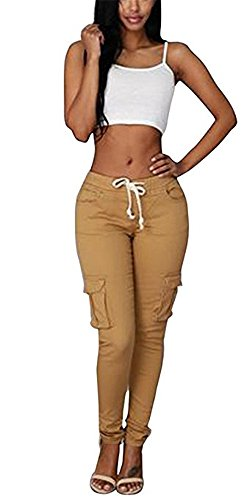 yellow skinny pants - 9
