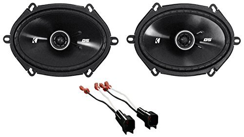Kicker 6x8 Front Speaker Replacement Kit for 1999-2004 Ford F-250/350/450/550