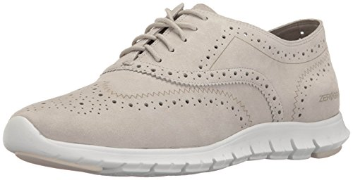 best prices Cole Haan Women's Zerogrand Wing Ox Open Hole Oxford Sandshell/White best online online Shop cheap visit new tf2cr