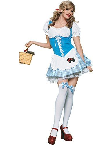 Dorothy Girl Adult Costume - Small ()