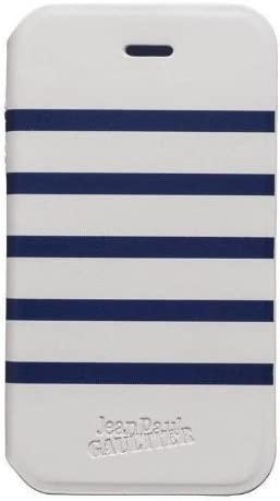 Jean Paul Gaultier JP259817 - Carcasa folio para Apple iPhone 4/4S, blanco/azul: Amazon.es: Electrónica