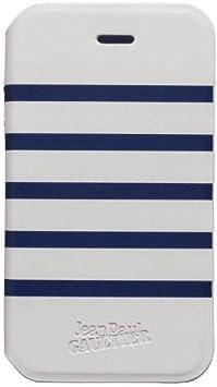 Jean Paul Gaultier JP264859 - Funda para Sony Xperia E, blanco y azul: Amazon.es: Electrónica