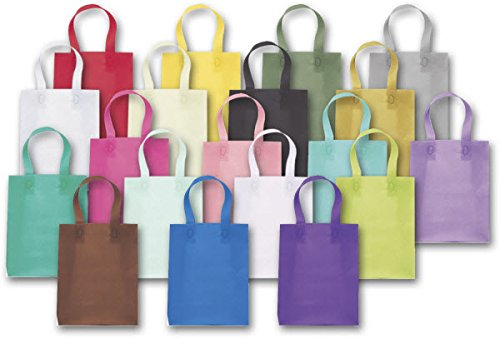 Coloured Frosted Shopper - EGP Colored Frosted High Density Shoppers