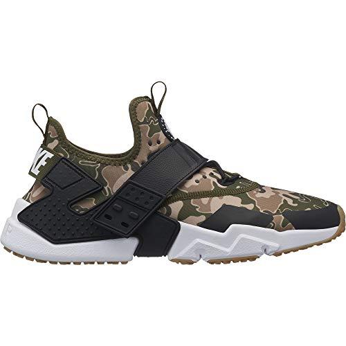 (Nike Men's Air Huarache Drift Premium Running Shoe, Olive Canvas/Black-Canteen-Desert Ore, 8.5)