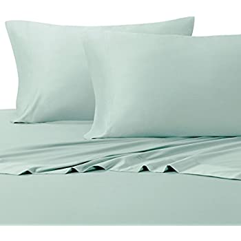 Queen Sea Silky Soft bed sheets 100% Rayon from Bamboo Sheet Set