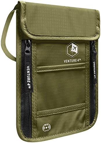 Venture Travel Pouch Wallet Blocking