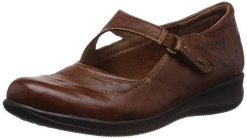 SoftWalk Women's Taylor Too,Cognac Vintage Waxy Wrinkled Leather,US 5 M