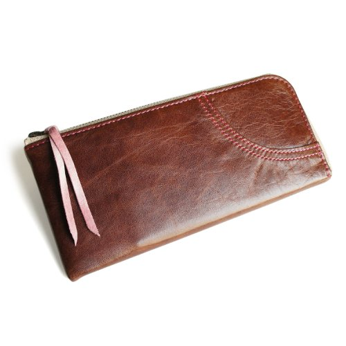 Women's Wallet (Chocolate, Horse Leather, Made in Japan) by pacca pacca