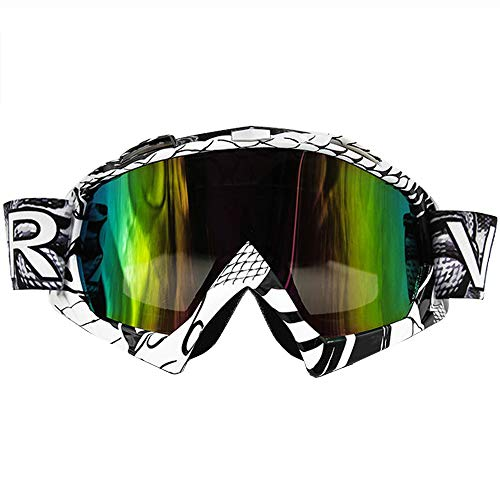 d4e6d4f3421f BMHFF Motorcycle Goggles Anti-Fog Windproof Ski Goggles Fit Over Glasses  and Helmet Motocross Dirt