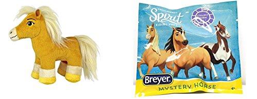 Breyer Netflix Spirit Riding Free Plush Chica Linda Horse and Mystery Surprise Pack