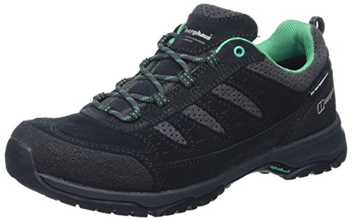 Berghaus Women's Expeditor Active AQ Waterproof Low Rise Walking Shoes Multicolor (Navy/Green An6)