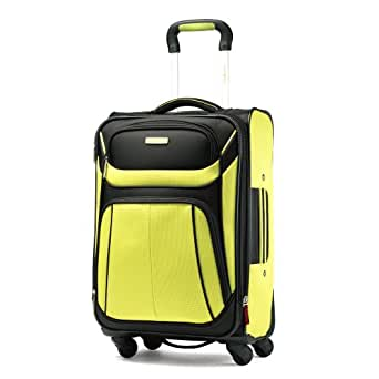 Samsonite Luggage Aspire Sport Spinner 21 Expandable Bag, Volt/Black, Carry-on