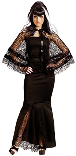 Funworld Womens Sexy Witch Sorceress Widow Maker Theme Party Halloween Costume, Small/Medium (2-8)