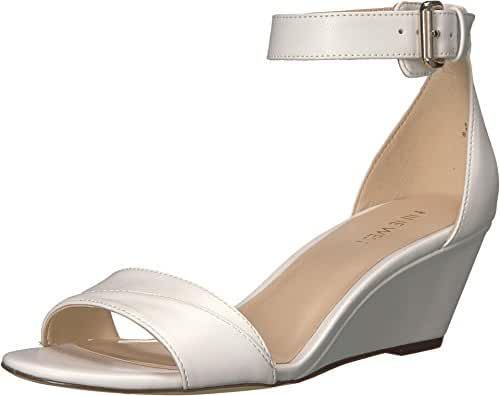 Nine West Women's Prettysis Synthetic Wedge Sandal