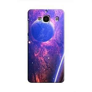 Cover It Up - Bright Planet View Redmi 2 Prime Hard Case