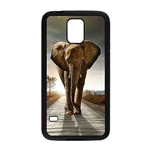 Elephant Samsung Galaxy S5 Cell Phone Case Black Z0027129
