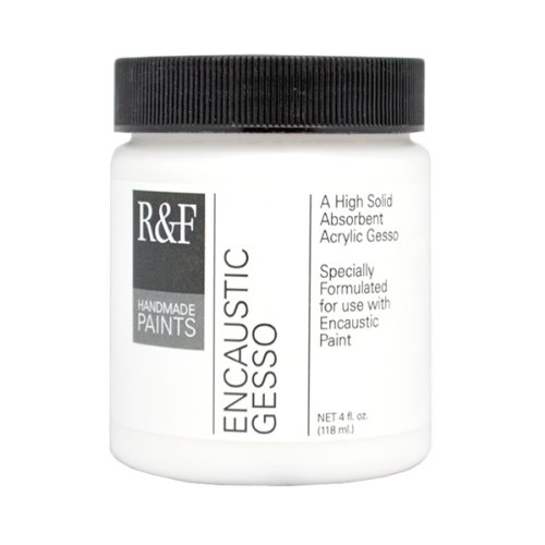 RF Handmade Paints Encaustic Gesso, 4-Ounce