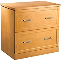 OfficeMax Premium Light Cherry 2-Drawer Lateral File
