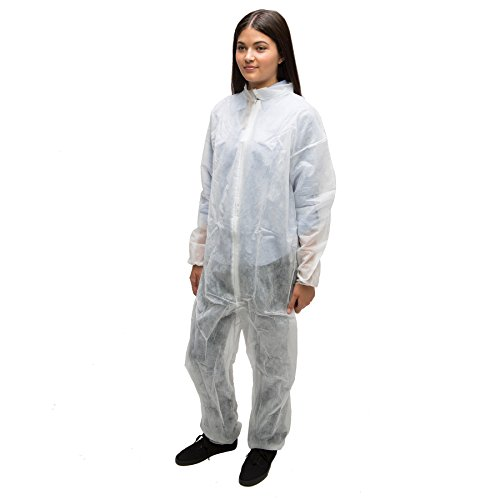 AMMEX - CO35XXXL - 35 gsm (grams per square meter) Spun-bond Polypropylene Coveralls, 3XL - 25/case