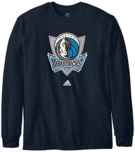 NBA Men's Full Primary Logo Long Sleeve Tee by adidas
