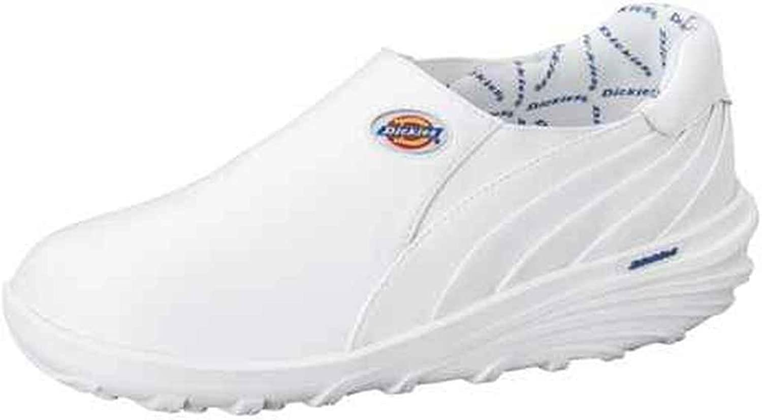 Dickies Intense Women's Slip On Shoe-WHITE WIDE, 9 Wide