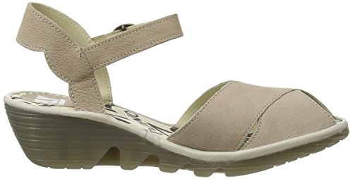 FLYA4|#Fly London Pero706fly, Heels Sandals para Mujer Gris (Concrete/Concrete 010)