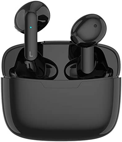 Bluetooth 5.1 Earbuds, Wireless Headphones Hi-Fi Stereo Bluetooth Earbuds in-Ear Wireless Earbuds Sports Headsets 【24H Fast Charging Case】 for Apple Airpods Pro/Android/iPhone/Samsung/LG