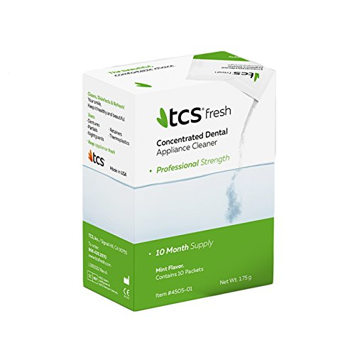 TCS Concentrated Dental Appliance Cleaner (10 Month Supply)
