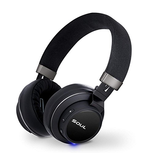 SOUL Impact OE Signature Sound On-Ear Wireless Headphones