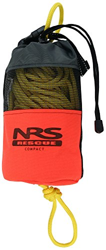 Throw Rope Bag - NRS Compact Rescue Throw Bag (Orange, 70ft)
