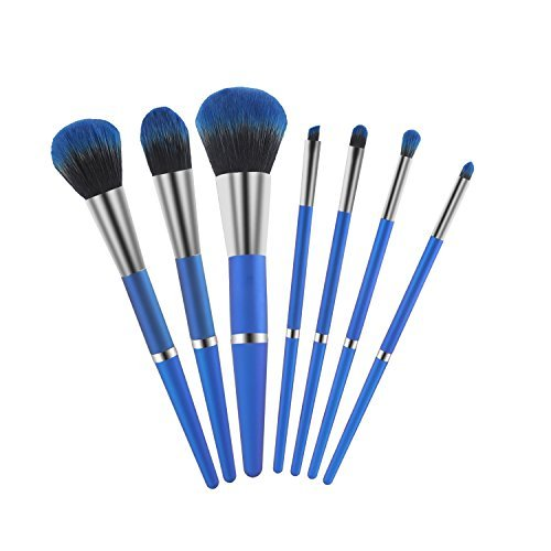 Makeup Brush, YaMeite 7 pcs Essential Cosmetics Face Eye Sha