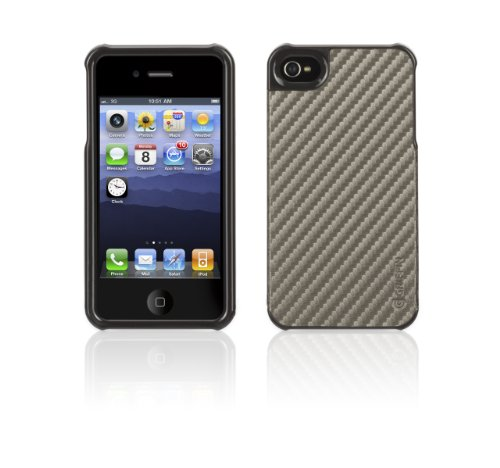 Griffin GB03166 Elan Form Graphite for iPhone 4S - 1 Pack - Retail Packaging - Gun Metal