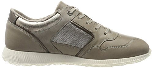 Ecco warm Basses warm Clay Femme Grey dark Gris Grey Ladies Sneakers rq6AzrZ