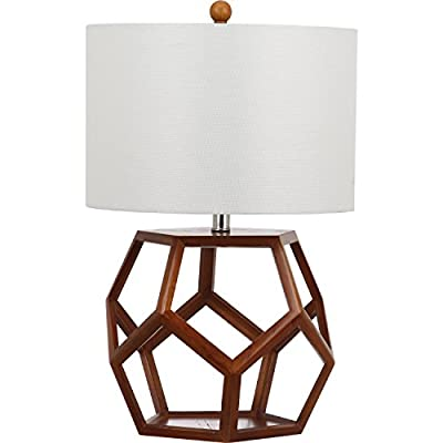 Safavieh Lighting Collection Delaney Brown 23.75-inch Table Lamp