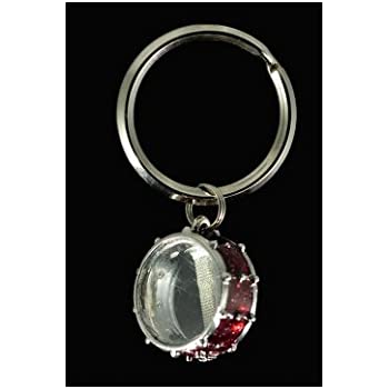 snare drum key chain red home kitchen. Black Bedroom Furniture Sets. Home Design Ideas