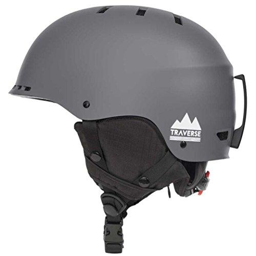 traverse-vigilis-2-in-1-convertible-ski-snowboard-bike-skate-helmet-with-mini-visor-matte-graphite-s