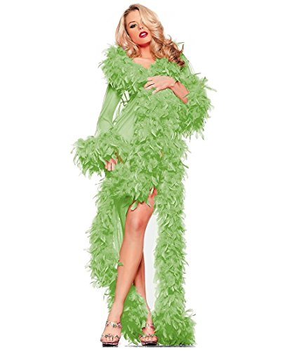 Glamour Robe Adult Lingerie Green - One Size