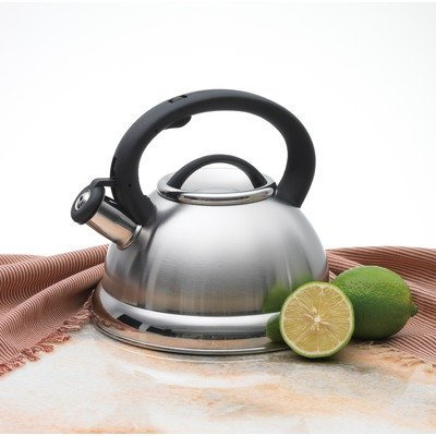 Alpine Cuisine TK3001C Stainless Steel Teakettle, Tea Pot, 2.8 Liters, -